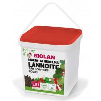 Marja- ja hedelmälannoite Biolan 5.5l