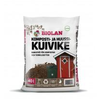 Komposti- ja huussikuivike Biolan, 40l