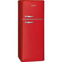 Jääkaappipakastin BomannDTR351, 157+51l, punainen tai beige