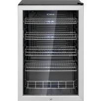 Jääkaappi lasiovella Bomann KSG7283, 54cm, rst