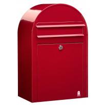 Postilaatikko Classic, 50x32x21cm, punainen RAL3001, kampanjatarjouksena nimikyltti kaupan päälle!
