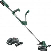 Akkutrimmeri Bosch UniversalGrassCut 18-260, 18V, 2Ah akulla