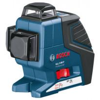 Linjalaser Bosch Pro GLL 3-80 +BM1+LR2+L-BOXX