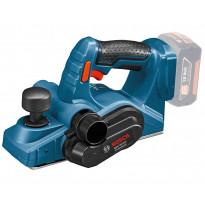 Akkuhöylä Bosch Professional GHO 18V-LI Solo, L-Boxx, ei sis. akkua/laturia, Verkkokaupan poistotuote