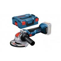 Kulmahiomakone Bosch Professional GWX 18V-10 Solo, ilman akkua + L-Boxx