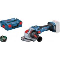 Akkukulmahiomakone Bosch Professional GWX 18V-15 SC HMI Solo, ilman akkua + L-Boxx