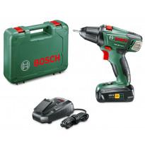 Akkuporakone Bosch PSR 180 LI-10 1x2,0Ah