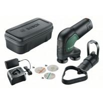 Akkuhiomakone Bosch EasyCurvSander 12V, 2.5Ah akulla