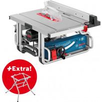 Pöytäsaha Bosch GTS 10 J + jalusta GTA 600