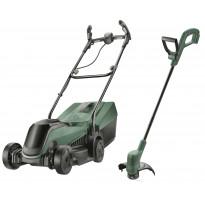 Akkuruohonleikkuri Bosch Citymower + trimmeri Easygrasscut
