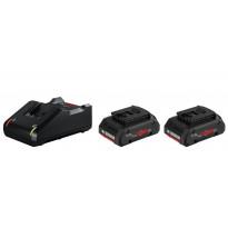 Akku- ja laturipaketti Bosch ProCore 18V, 2x4.0Ah, GAL 18V-40