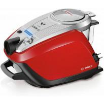 Pussiton pölynimuri Bosch ProAnimal, punainen