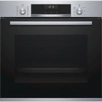 Uuni Bosch HBA537BS0S, 60cm, musta/teräs
