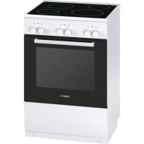 Keraaminen liesi Bosch HCA622121U, 60cm, valkoinen