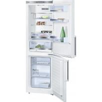 Jääkaappipakastin Bosch KGE36BW40, 186cm, valkoinen