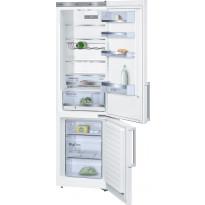 Jääkaappipakastin Bosch KGE39AW42, 201cm, valkoinen