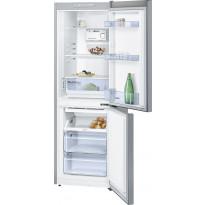 Jääkaappipakastin Bosch KGN33NL20, 176cm, InoxLook, teräs