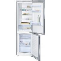 Jääkaappipakastin Bosch KGV36VI32, 214/94l, 186x60cm, teräs