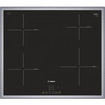 Induktiokeittotaso Bosch PIE645BB1E, KehysDesign, 60 cm, musta, Verkkokaupan poistotuote