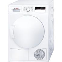 Kuivausrumpu lämpöpumpulla Bosch WTH83007SN, valkoinen