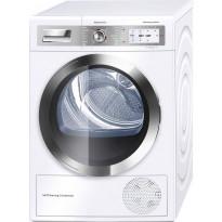 Lämpöpumppukuivausrumpu Bosch WTY87859SN, valkoinen