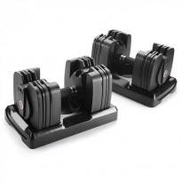 Säädettävä käsipaino Bowflex 560 SelectTech, 2.3-27.2kg, 2 kpl/pkt, bluetooth-yhteys