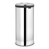 Pyykkikori Brabantia 35L, Quick-Drop Brilliant Steel