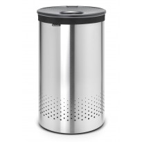 Pyykkikori Brabantia 60L, Quick-Drop Matt Steel/Cool Grey