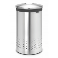 Pyykkikori Brabantia 60L, Quick-Drop Matt Steel