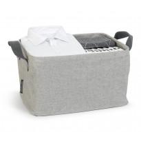 Pyykkikori Brabantia 35L, kokoontaittuva Grey