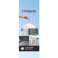 Roskapussi Brabantia PerfectFit H 50-60 Litraa 10 kpl x 12 rullaa