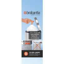 Roskapussi Brabantia PerfectFit B 5 litraa, 20kpl x 12 rullaa