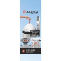 Roskapussi Brabantia PerfectFit L, 45 litraa, 10kpl x 12 rullaa