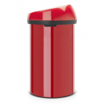 Roska-astia Brabantia Touch Bin 60L, Passion Red