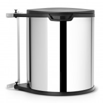 Jäteastia Brabantia Built-in Bin 15L, Brilliant Steel