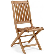 Tuoli Everton, taitettava, ruskea