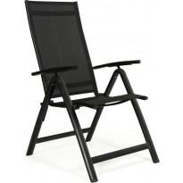 Tuoli Creston, säädettävä, musta/harmaa