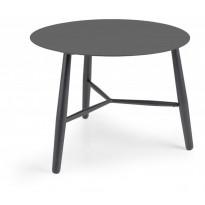 Sivupöytä Vannes, Ø60cm, tumman harmaa