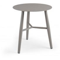 Sivupöytä Vannes, Ø45cm, beige