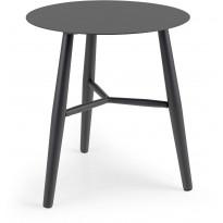 Sivupöytä Vannes, Ø45cm, tumman harmaa