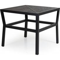 Sohvapöytä Bergerac, 74x74cm, musta
