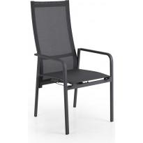 Tuoli Renoso, säädettävä, pinottava, antrasiitti/harmaa