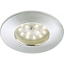 LED-alasvalo Briloner, 5W, IP 44, kromi