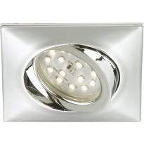 LED-alasvalo Briloner, kohdistettava 5W, kromi