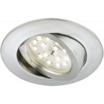 LED-alasvalo Briloner, himmennettävä 5,5W, IP23, alumiini