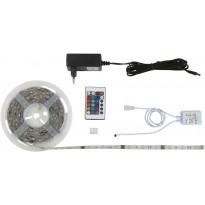 LED-valonauha Briloner, RGB, 3m, 14.4W + kaukosäädin