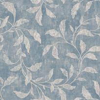 Tapetti Boråstapeter Oriental Dreams, Roosewood Night, 1904, 0.53x10.05m, sininen