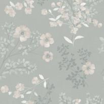 Tapetti Boråstapeter InBloom Prairie Rose, 7233, 0.53x10.05m, beige