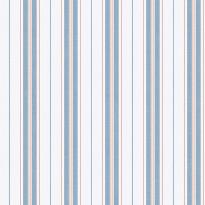 Tapetti Boråstapeter Marstrand II Hamnskär Stripe, 8874, 0.53x10.05m, sininen