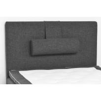 Sängynpääty Basic 120x125 cm tummanharmaa